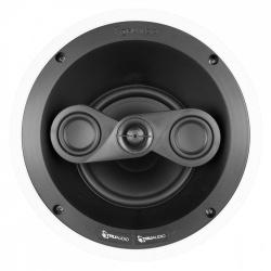 TruAudio Bocina de Techo REV6P-LCR1, Alámbrico, 100W RMS, Negro