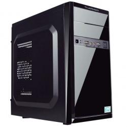 Gabinete True Basix Performance TB-05001, ATX/micro-ATX/mini-ATX, USB 2.0, con Fuente de 480W, Negro