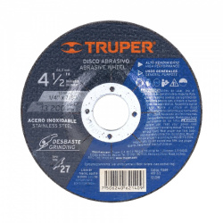 Truper Disco para Máquinas Eléctricas ABT-372, 4.5