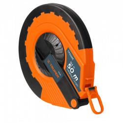 Flexómetro Truper TP50ME, 50 Metros, 14.5mm, Naranja/Negro