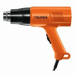 Truper Pistola de Calor PISCA-A2, 1500W, Naranja/Negro