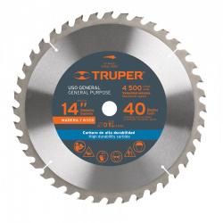 Truper Disco para Sierra ST-1440E, 14