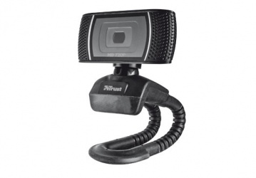 Trust Webcam Trino, 1280 x 720 Pixeles, USB 2.0, Negro