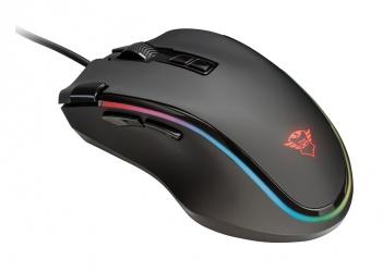 Mouse Gamer Trust Óptico GXT 188 Laban, Alámbrico, USB, 15.000DPI, Negro