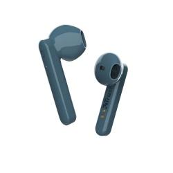 Trust Audífonos Intrauriculares con Micrófono Primo Touch, Inalámbrico, Bluetooth 5.0, Azul