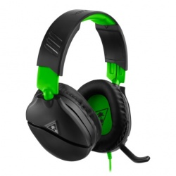 Turtle Beach Audífonos Gamer Recon 70 para Xbox/PS4/Nintendo/PC, Alámbrico, 3.5mm, Negro/Verde