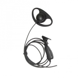 txPRO Micrófono con Solapa para Radio TX-160N, M01, Negro, para Motorola/Hytera