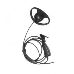 txPRO Micrófono con Solapa para Radio TX-160N, M09, Negro, para Motorola