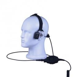 txPRO Auriculares de Conducción Ósea TX-570, M01, para Motorola/Hytera