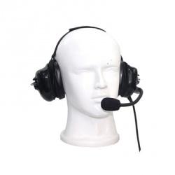 txPRO Auricular con Micrófono y Cancelación de Ruido para Radio TX-740-K01, K01, Negro, para Kenwood