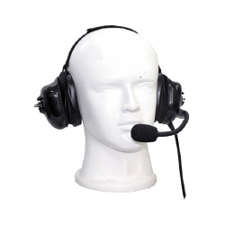 txPRO Audifonos con Micrófono para Radio TX-740-M02, M02, Negro, para Motorola