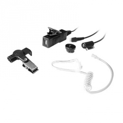 txPRO Micrófono con Solapa para Radio TX-885-M09, M09, Negro, para Motorola