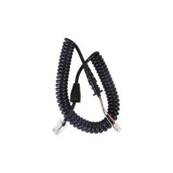 txPRO Cable para Micrófono de Radio, RJ-45, Negro, para TX1000