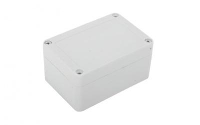 txPRO Gabinete de Plástico para Exteriores, 6.8 x 10cm, Blanco