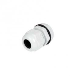 txPRO Conector Plástico Tipo Glándula para Cable de 3.5-6mm, Blanco
