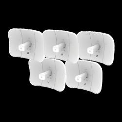 Ubiquiti Networks Antena Direccional LiteBeam AC Gen2, 450 Mbit/s, 5GHz, 23dBi, 5 Piezas