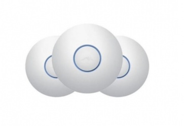 Access Point Ubiquiti Networks UniFi AC Pro, Inalámbrico, 1300 Mbit/s, 2.4-5GHz, 3 Antenas de 3dBi, 3 Piezas - no incluye Adaptador PoE