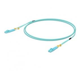Ubiquiti Networks Cable Fibra Óptica LC Macho - LC Macho, 50cm, Aqua