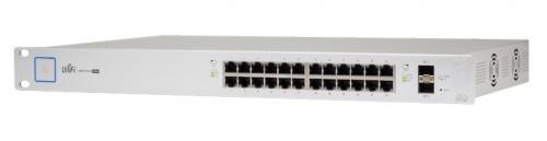 Ubiquiti Networks Gigabit Ethernet Switch US-24-250W PoE+, 24 Puertos 10/100/1000Mbps + 2 Puertos SFP - Gestionado