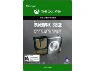 Tom Clancy's Rainbow Six: Siege, 1200 Créditos, Xbox One ― Producto Digital Descargable