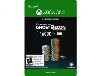Tom Clancy's Ghost Recon Wildlands, 1700 Créditos, Xbox One ― Producto Digital Descargable