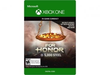For Honor, 5000 Créditos, Xbox One ― Producto Digital Descargable