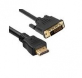 Unirise Cable HDMI Macho - DVI-D Macho, 91cm, Negro