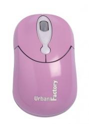 Mouse Urban Factory Óptico Crazy, Alámbrico, USB, 800DPI, Púrpura