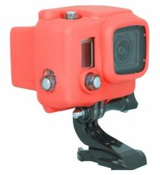 Urban Factory Funda de Silicon, Rojo, para GoPro