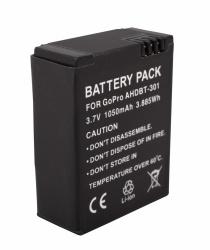 Urban Factory Bateria Recargable, 1050mAh, para GoPro Hero3/Hero3+