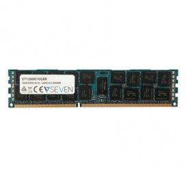Memoria RAM V7 V71280016GBR DDR3, 1600MHz, 16GB, ECC, CL11