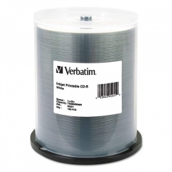 Verbatim Disco Virgen para CD, CD-R, 52x, 100 Discos (95251)