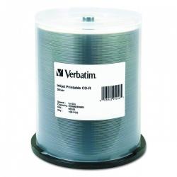 Verbatim Discos Virgenes para CD, CD-R, 52x, 100 Discos (95256)