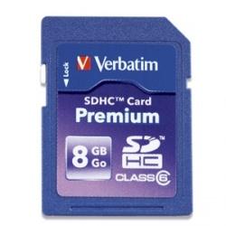 Memoria Flash Verbatim 96318, 8B SDHC UHS-I Clase 10
