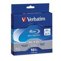 Verbatim Disco Virgen para Blu-Ray, BD-R, 6x, 10 Discos