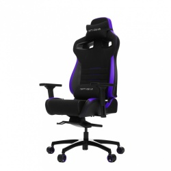 Vertagear Silla Gamer PL4500, hasta 180Kg, Negro/Púrpura