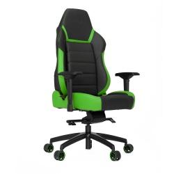 Vertagear Silla Gamer PL6000, hasta 200Kg, Negro/Verde
