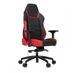 Vertagear Silla Gamer PL6000, hasta 200Kg, Negro/Rojo