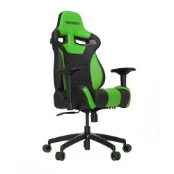 Vertagear Silla Gamer SL4000, hasta 150Kg, Negro/Verde
