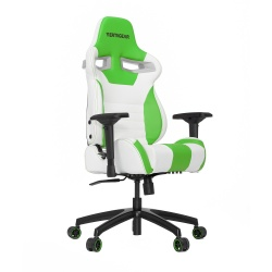 Vertagear Silla Gamer SL4000, hasta 150Kg, Blanco/Verde