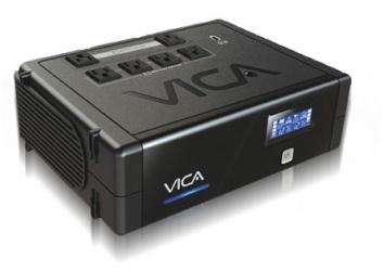 No Break Vica B-Flow Revolution 900, 500W, 900VA, Entrada 90-144V, Salida 108-132V, 6 Contactos
