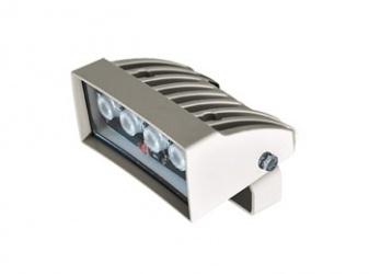 Videotec Iluminador de Luz Blanca 60°, hasta 40 Metros, Blanco