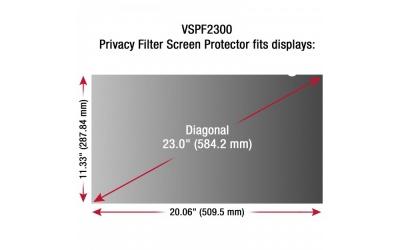Viewsonic Filtro de Privacidad para Monitor 23