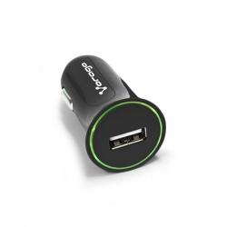 Vorago Cargador para Auto AU-101 V2, 1x USB 2.0, 5V, Negro