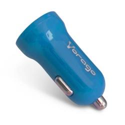 Vorago Cargador para Auto AU-101 V2, 1x USB 2.0, 5V, Azul