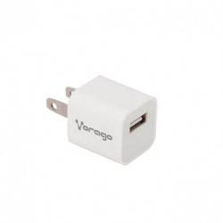 Vorago Cargador para Pared AU-105, 5V, 1x USB 2.0, Blanco