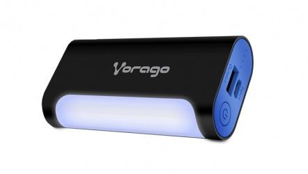 Cargador Portátil Vorago PowerBank 201, 6000mAh, USB y Micro-USB, Negro/Azul