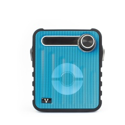 Vorago Bocina Portátil BSP-200, Bluetooth, Inalámbrico, 5W RMS, USB 2.0, Azul