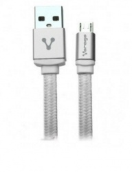 Vorago Cable USB 2.0 A Macho - micro USB B Macho, 1 Metro, Blanco