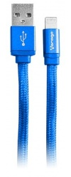 Vorago Cable USB 2.0 A Macho - Lightning Macho, 1 Metro, Azul